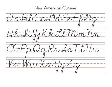 Is Cursive Writing Really on the Ropes? | Classical Latin School ...